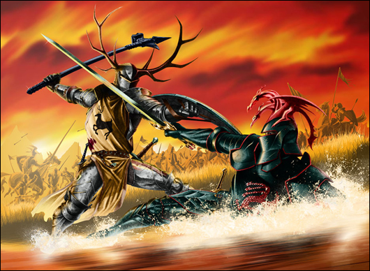 robert slays rhaegar at the trident