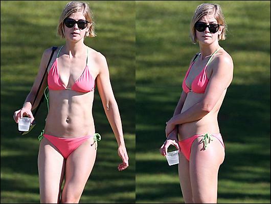 rosamund pike bikini