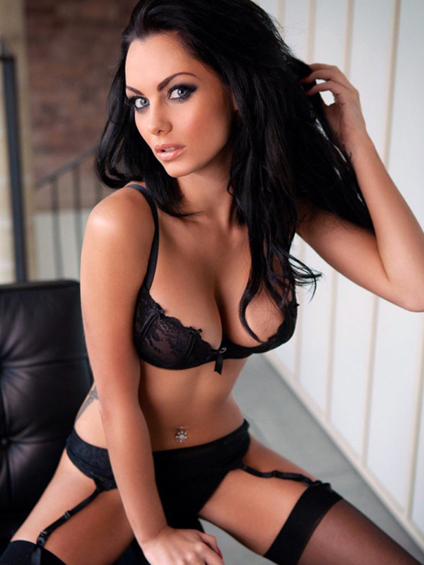 jessica james clement black lingerie