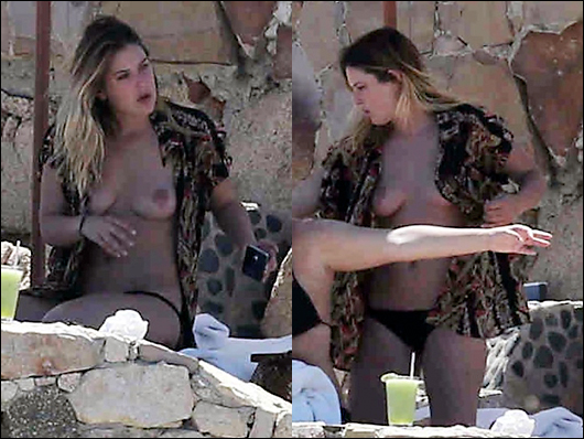 rumer willis topless