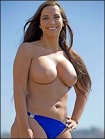 sydney leathers topless bikini