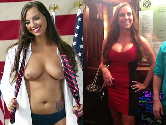 sydney leathers got fake boobs?