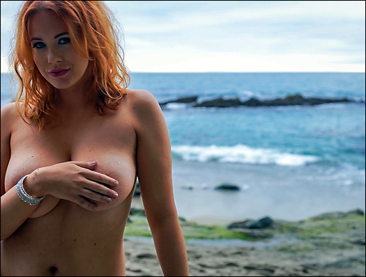 maitland ward topless at the beach