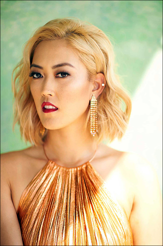 michelle wie sexy and stylish
