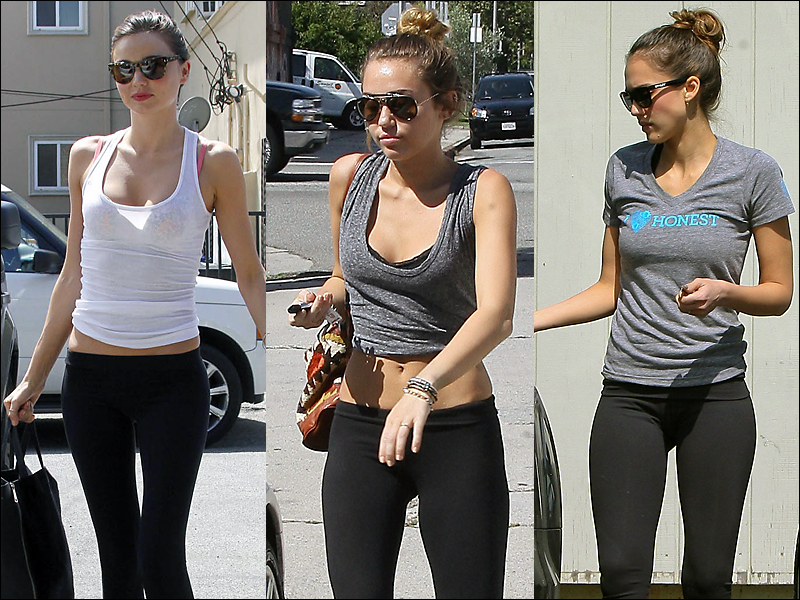 miranda, miley, and jessica sport yoga pants